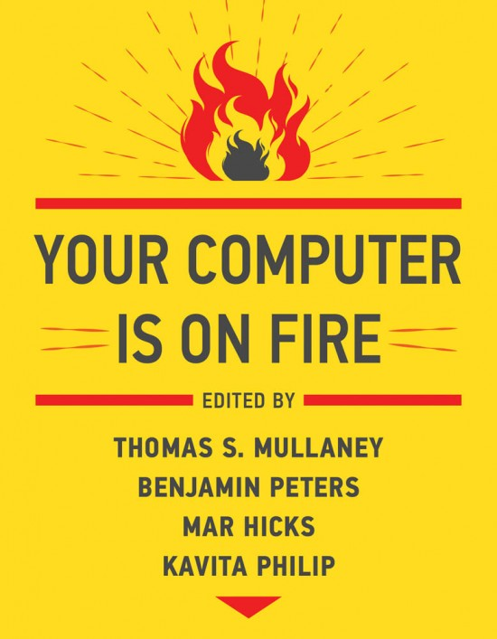 """""""Your Computer is on Fire"""" cover"""