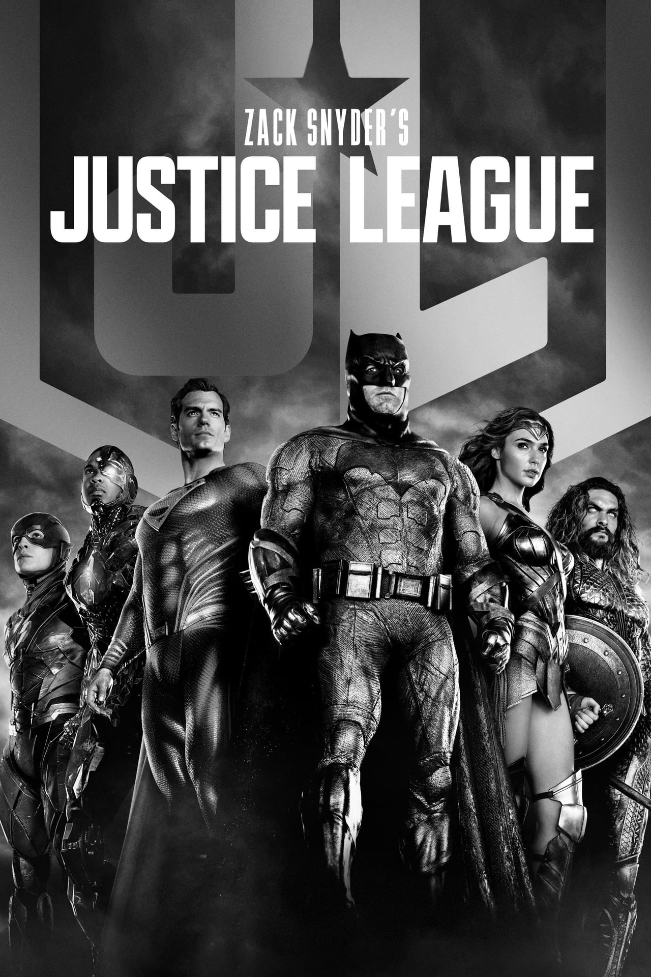 """""""Zack Snyder's Justice League"""" poster"""